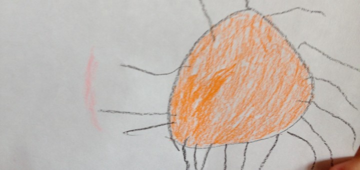 Oranžové slnko