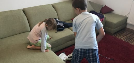 Upratovanie s deťmi